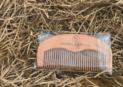 Beard Comb and or Hair Comb 100% Natural Peach Wood